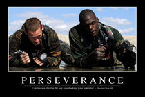 Perseverance Motivational Poster by Stocktrek Images