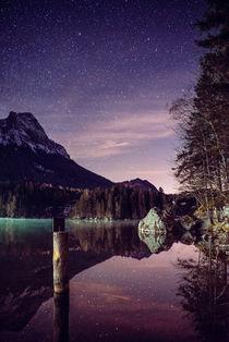 Hintersee bei Nacht von Nicolas Müller