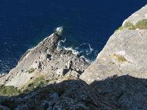 Mallorca ́s Küste von oben by Karin Fricke