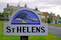 Village Sign, St Helens von Rod Johnson