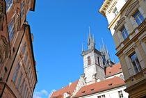 Teynkirche in Prag... by loewenherz-artwork