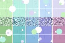 Frühlingsfarben Muster by Christine Bässler