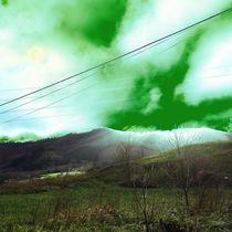 Alien sky by Mikel Cornejo Larrañaga