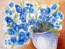 Blumen in dem Topf by Irina Usova
