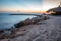 Caribbean beach  von Abe  Raats