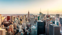 Late Afternoon New York Skyline von Sascha Kilmer