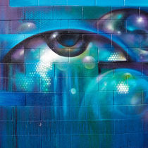 Graffiti Eye by Nadja Herrmann