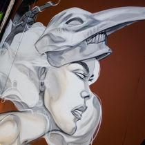 Graffiti Face 2 von Nadja Herrmann