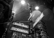 Rainy Night in New York City by Sascha Kilmer