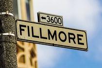 Fillmore Street by Nadja Herrmann