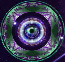purple aye von Lydia  Knauf