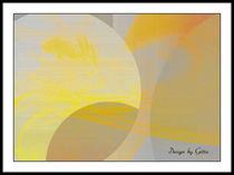 Digital Sonne und Mond 01 von bilddesign-by-gitta