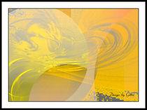 Digital Sonne und Mond 02 von bilddesign-by-gitta