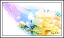 Digitaler Blumentraum 01 von bilddesign-by-gitta