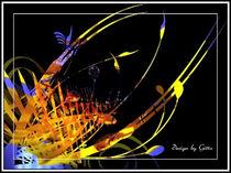Digitaler Blumentraum 12 von bilddesign-by-gitta