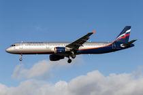 Aeroflot Airbus A321 von David Pyatt