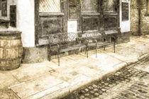 Pub Resting Place Vintage by David Pyatt