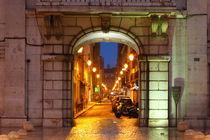 Lissabon : Rua dos Sapateiros in der Baixa by Torsten Krüger