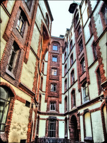 Speicherstadt Hamburg, Innenhof von Christoph Stempel
