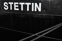 """Maritime Elemente """"Stettin Eisbrecher I"""" schwarz/weiß – Fotografie von elbvue von elbvue"""