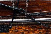 """Maritime Elemente """"fest verankert"""" braun – Fotografie von elbvue von elbvue"""