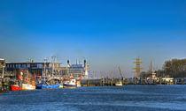 Hafen by Roland Scheibner