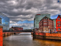 Hafencity-Speicherstadt, Old Meets New 2 by Christoph Stempel