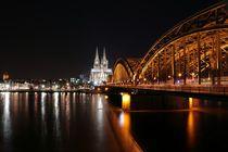 Hohenzollern Bridge, Cologne  von Antonio  Böttner