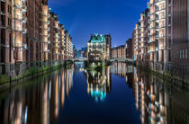 Wasserschloss in der Speicherstadt Hamburg von Dennis Stracke