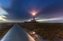 Leuchtturm Westerhever an der Nordsee by Dennis Stracke