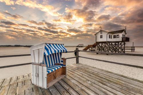 Morgens-am-strand