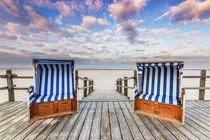 Strandkorb Urlaub an der Nordseeküste by Dennis Stracke
