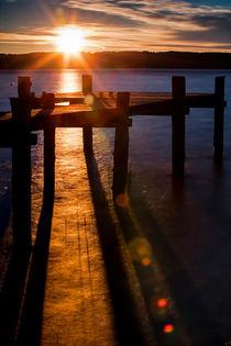 Sonnenuntergang am Ammersee von Andreas Müller