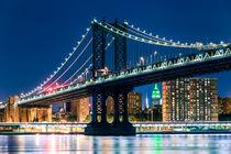 Manhattan Bridge, New York City von Sascha Kilmer