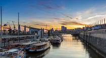 Hamburg Landungsbrücken von Dennis Stracke