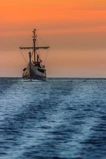 Wickinger Schiff in der Ostsee Usedom by Dennis Stracke