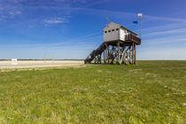 Am Strand von St Peter Ording Nordsee von Dennis Stracke