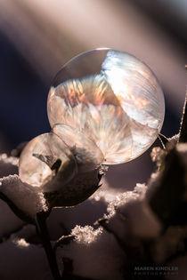 FROZEN BUBBLE - gefrorene Seifenblasen von Maren Kindler