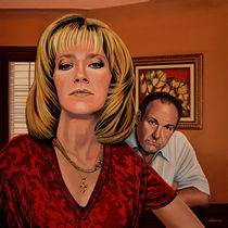 The Sopranos Painting von Paul Meijering