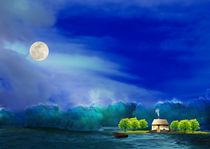 Welle im Mondlicht by alana