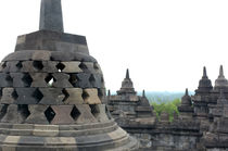 Borobudur Temple by Philip Shone