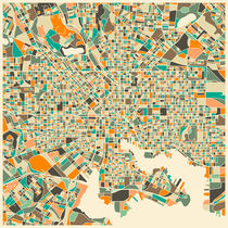 BALTIMORE MAP von Jazzberry  Blue