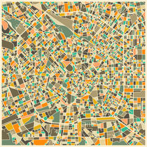 MILAN MAP von Jazzberry  Blue