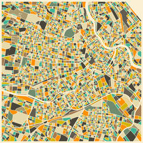 VIENNA MAP von Jazzberry  Blue