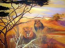 Löwen von Hildegunde Riemann