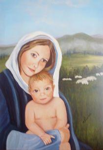 142_Maria mit dem Kinde von Hildegunde Riemann