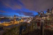 Blick vom Stintfang Landungsbrücken by Dennis Stracke