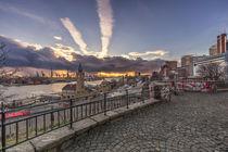 Landungsbrücken Hamburg Hafen von Dennis Stracke