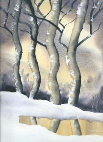 Winter Forest by Malcolm Snook