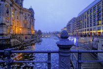 Berlin, Spree am Dom von langefoto